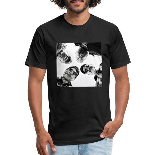 Crawdad Joe Circle shot - Fitted Cotton/Poly T-Shirt by Next Level