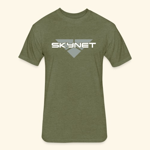 Skynet - Fitted Cotton/Poly T-Shirt by Next Level