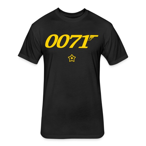 0071 - Fitted Cotton/Poly T-Shirt by Next Level