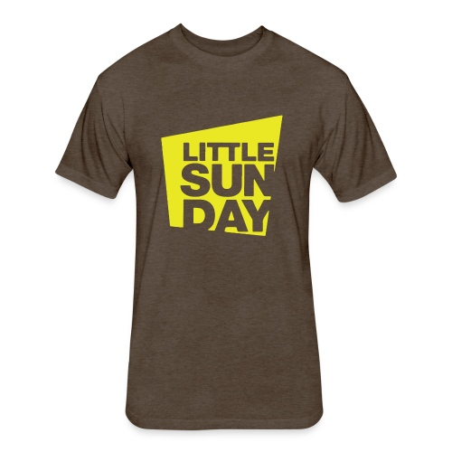 littleSUNDAY Official Logo - Fitted Cotton/Poly T-Shirt by Next Level