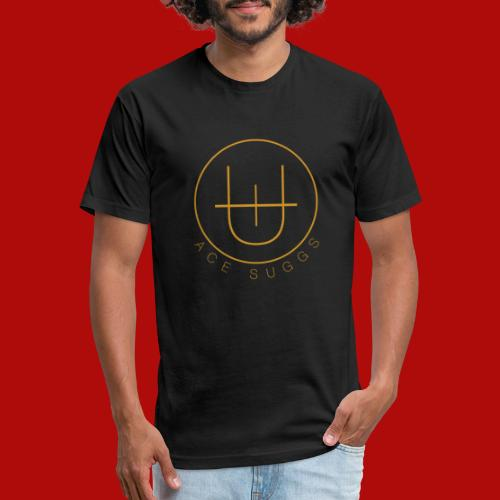 Ace Logo - Fitted Cotton/Poly T-Shirt by Next Level