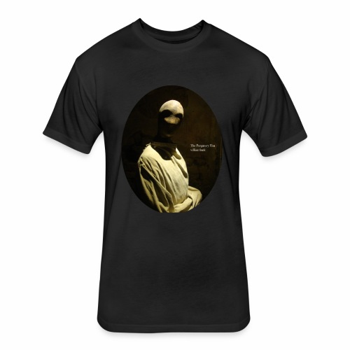 The Purgatory Elm by Tuckford Bunny Press - Fitted Cotton/Poly T-Shirt by Next Level