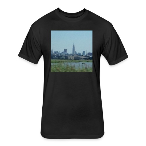 New York - Fitted Cotton/Poly T-Shirt by Next Level
