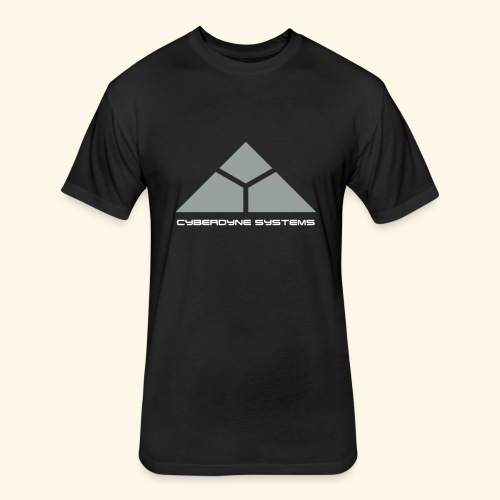 Cyberdyne Systems - Fitted Cotton/Poly T-Shirt by Next Level