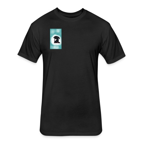 Sasha5615 - Fitted Cotton/Poly T-Shirt by Next Level