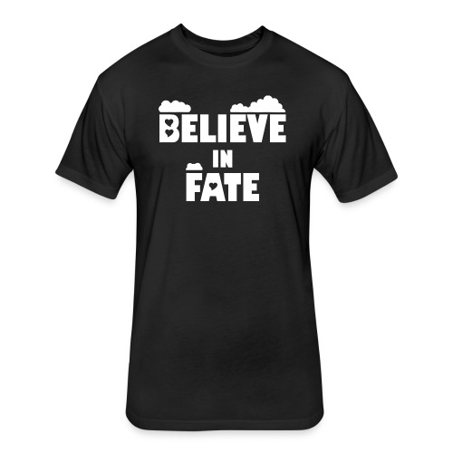 Believe In Fate | Mike Fate - Fitted Cotton/Poly T-Shirt by Next Level