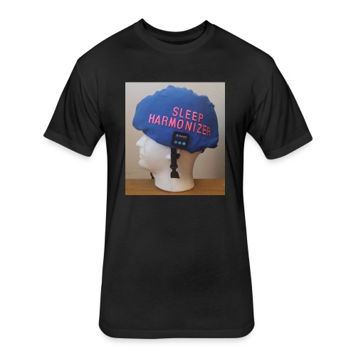 Sleep Harmonizer Helmet Model - Fitted Cotton/Poly T-Shirt by Next Level