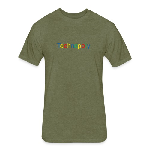 Technopoly Pack - Fitted Cotton/Poly T-Shirt by Next Level