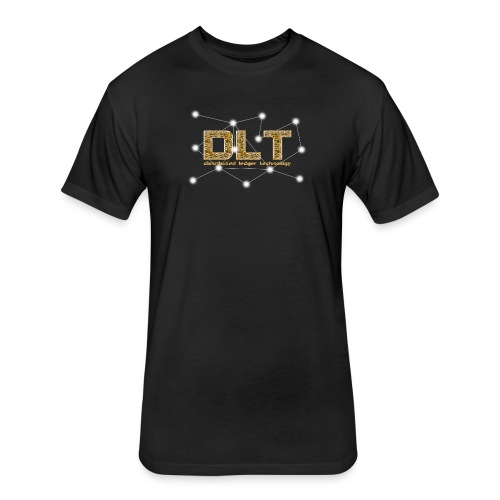 DLT - distributed ledger technology - Fitted Cotton/Poly T-Shirt by Next Level