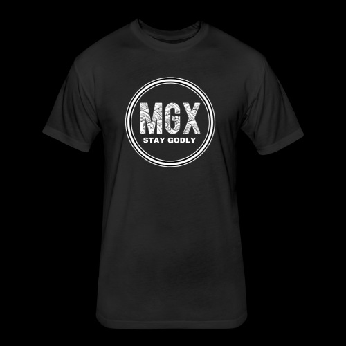 MGX - Fitted Cotton/Poly T-Shirt by Next Level