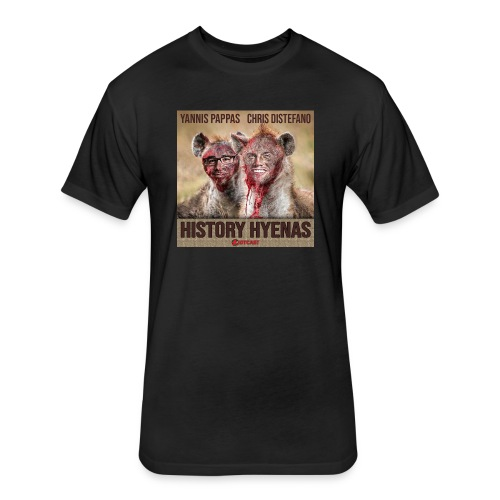 History Hyenas Podcast - Fitted Cotton/Poly T-Shirt by Next Level