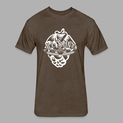 All Saints Hops - Fitted Cotton/Poly T-Shirt by Next Level