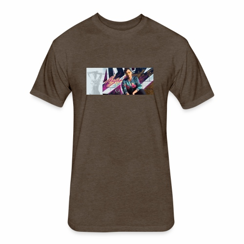 NSJAE Know Me - Fitted Cotton/Poly T-Shirt by Next Level