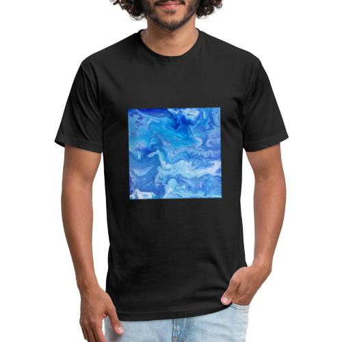 As deep as the ocean and as far as the universe - Fitted Cotton/Poly T-Shirt by Next Level