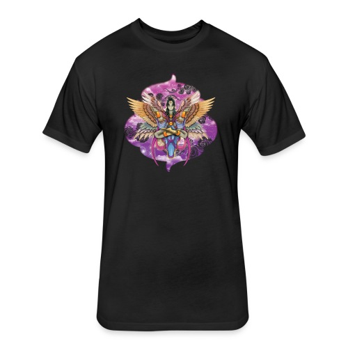 Harpy goddess - Fitted Cotton/Poly T-Shirt by Next Level