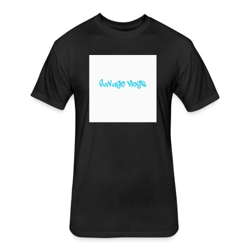BBE7B1B4 6044 42AF A152 48208328D2C8 - Fitted Cotton/Poly T-Shirt by Next Level