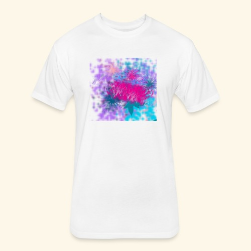 Abstract - Fitted Cotton/Poly T-Shirt by Next Level