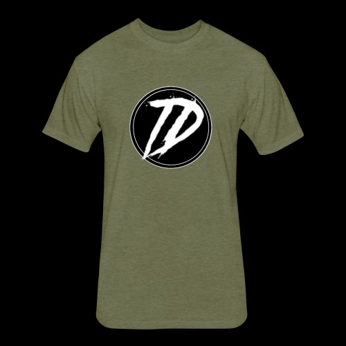Team DEBUG Logo - Fitted Cotton/Poly T-Shirt by Next Level