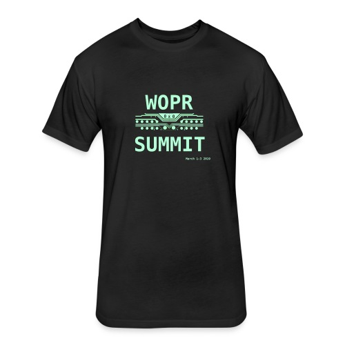 WOPR Summit 0x0 - Fitted Cotton/Poly T-Shirt by Next Level
