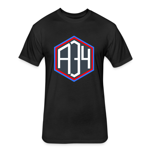 Adrian 34 LOGO - Fitted Cotton/Poly T-Shirt by Next Level
