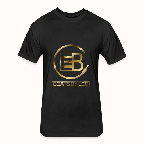 Beats By Ced Royalty Gold - Fitted Cotton/Poly T-Shirt by Next Level