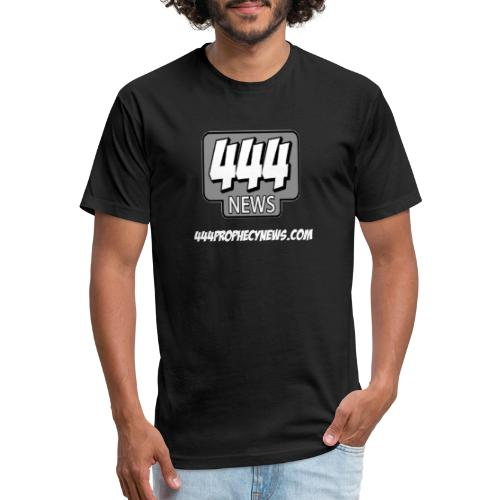 444 Prophecy News - Fitted Cotton/Poly T-Shirt by Next Level