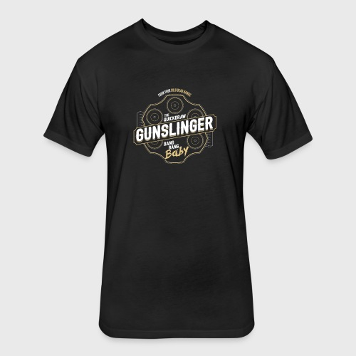 Gunslinger Class Fantasy RPG Gaming - Fitted Cotton/Poly T-Shirt by Next Level