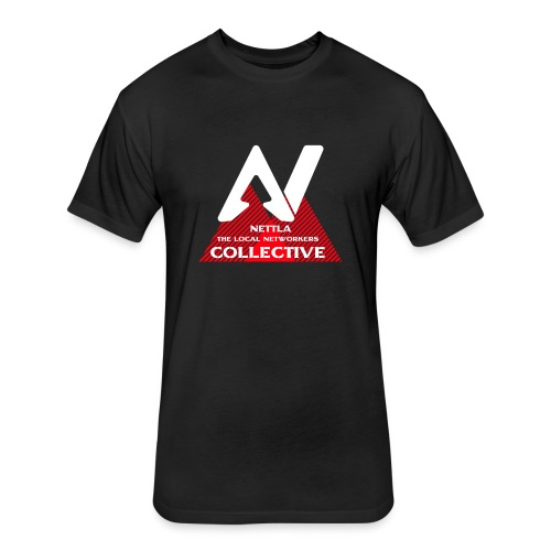 Nettla The Local Networkers Collective - Fitted Cotton/Poly T-Shirt by Next Level