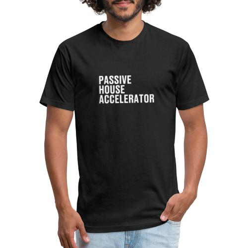 Passive House Accelerator Logo - Fitted Cotton/Poly T-Shirt by Next Level