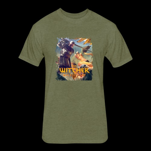 The Witcher 3 - Griffin - Fitted Cotton/Poly T-Shirt by Next Level