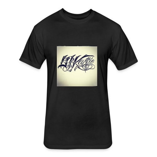 dj keysie - Fitted Cotton/Poly T-Shirt by Next Level