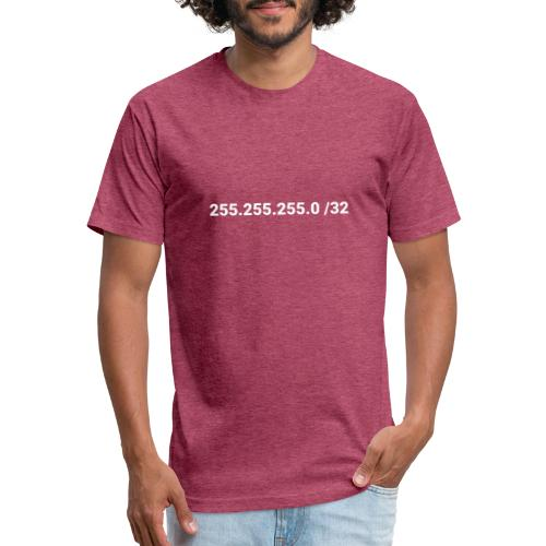 Subnet Mask - Fitted Cotton/Poly T-Shirt by Next Level