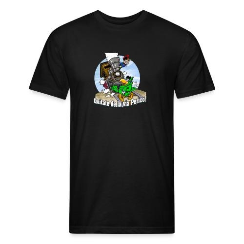Quitate de la Via Perico Salsero - Fitted Cotton/Poly T-Shirt by Next Level