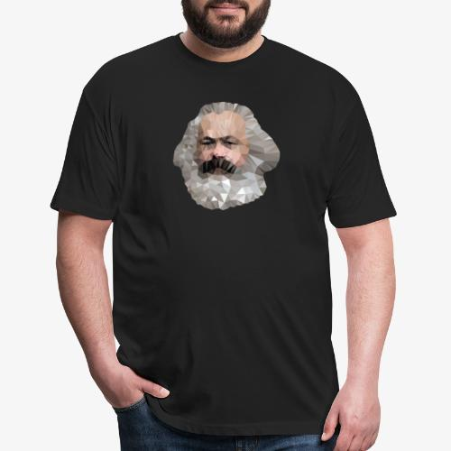 Marx - Fitted Cotton/Poly T-Shirt by Next Level