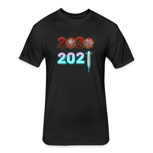 2021: A New Hope - Fitted Cotton/Poly T-Shirt by Next Level
