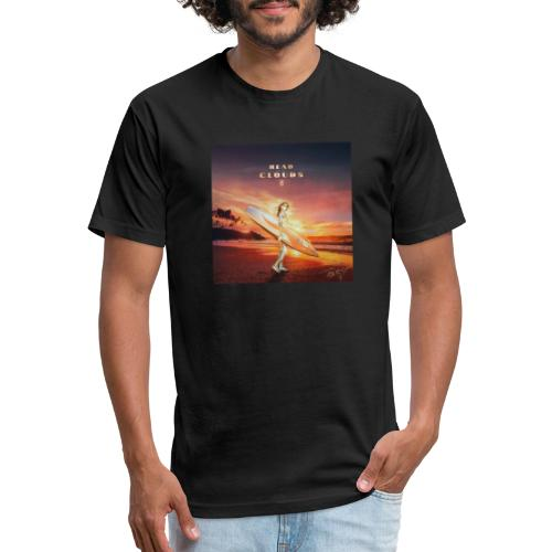 Head In The Clouds II - Fitted Cotton/Poly T-Shirt by Next Level