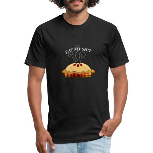 Helping Pie - Fitted Cotton/Poly T-Shirt by Next Level