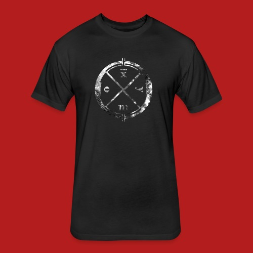 Logo Clan Of Xymox - Fitted Cotton/Poly T-Shirt by Next Level