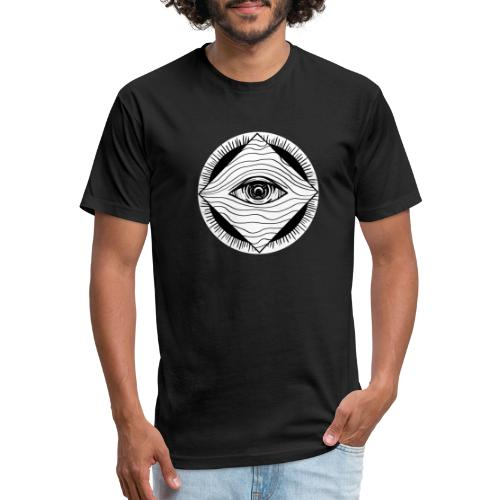 EYE see you - Fitted Cotton/Poly T-Shirt by Next Level