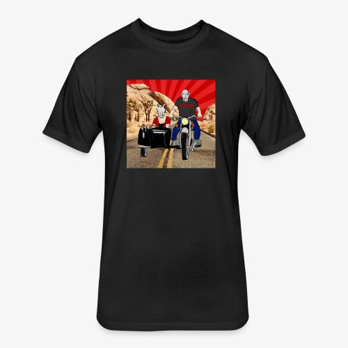 THE BELLE ENDS EASY RIDERS - Fitted Cotton/Poly T-Shirt by Next Level