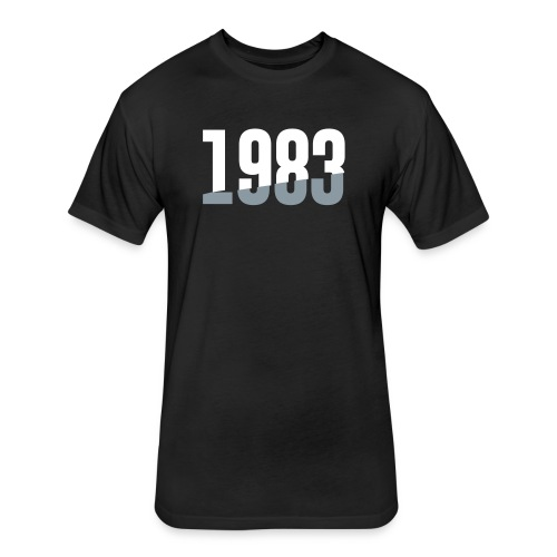 1983 - Fitted Cotton/Poly T-Shirt by Next Level