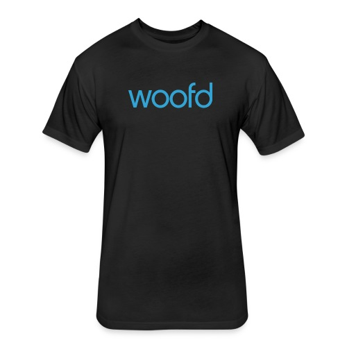 woofd - Fitted Cotton/Poly T-Shirt by Next Level