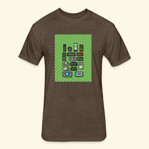 controller handy - Fitted Cotton/Poly T-Shirt by Next Level