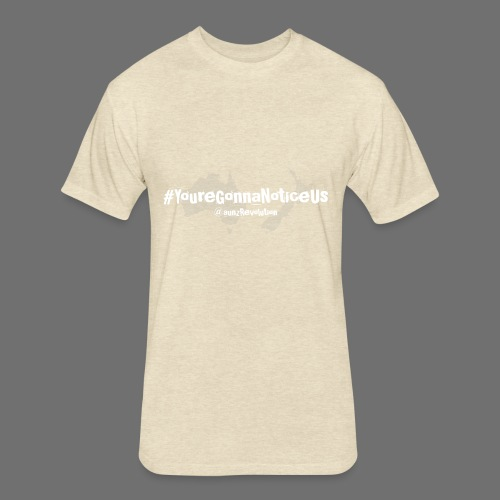 #youreGonnaNoticeUs No Mischief - Fitted Cotton/Poly T-Shirt by Next Level