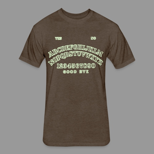 Talking Board - Fitted Cotton/Poly T-Shirt by Next Level