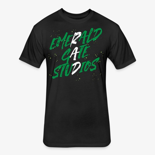 RAD! Emerald Gate Studios - Fitted Cotton/Poly T-Shirt by Next Level