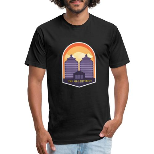 The Silos in Waco - Fitted Cotton/Poly T-Shirt by Next Level