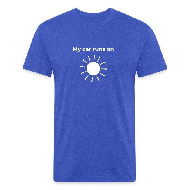 My car runs on solar (power)