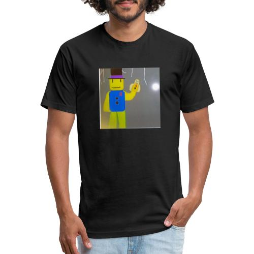 304811192 1026411581 funtime noob - Fitted Cotton/Poly T-Shirt by Next Level