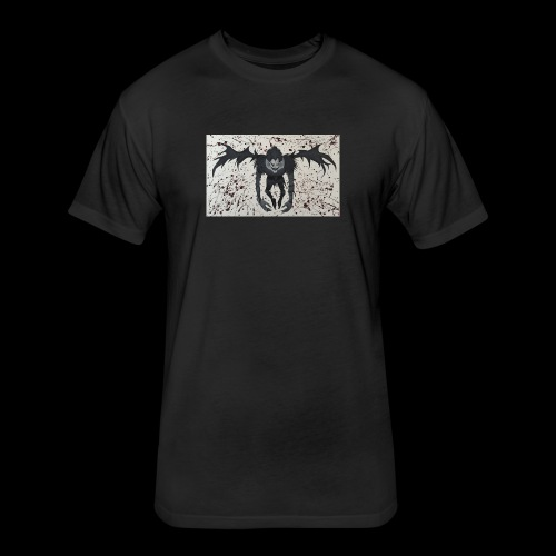 Ryuk - Fitted Cotton/Poly T-Shirt by Next Level